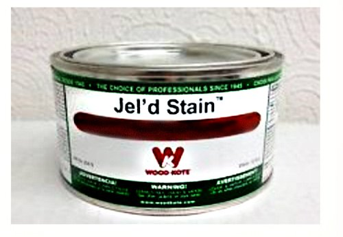 Wood Kote 213-9 Jel'd Stain, Walnut - 12 ounce can