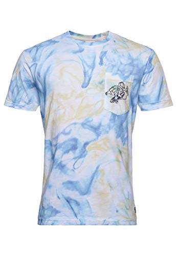 Superdry M1011020a Sushi Rollers PKT tee, Optic Tie Dye, M para Hombre