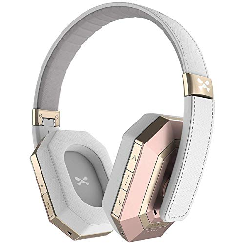 Ghostek soDrop Pro Wireless Headphones with Built-in Microphone - Pink/White