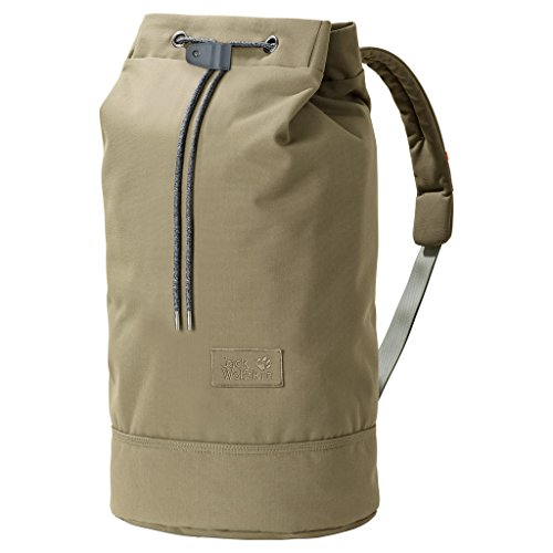 Jack Wolfskin ON The Fly 35 Seesack Rucksack Schultertasche, Burnt Olive, ONE Size
