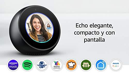 Echo Spot - Reloj inteligente con Alexa - Negro