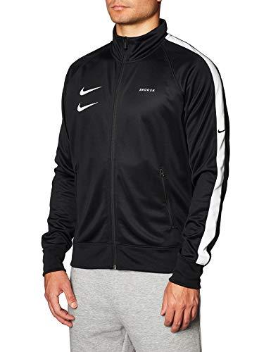 PASOK Men's Casual Tracksuit Full Zip Running Jogging Athletic Sports Jacket and Pants Set Black 2XL