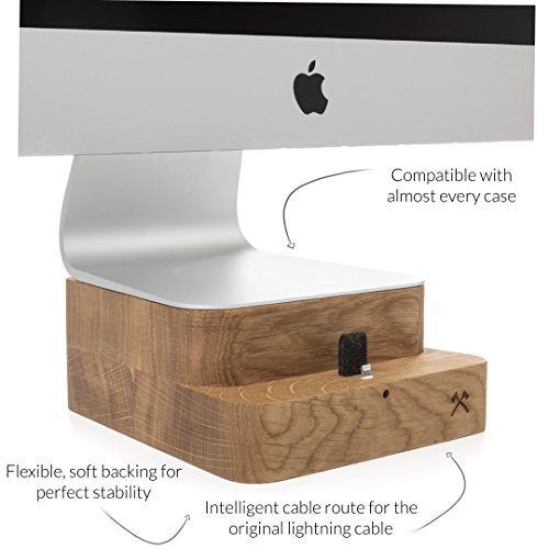 Woodcessories - Stand + Dock kompatibel mit iMac 27