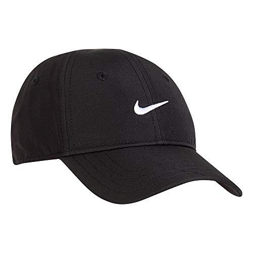 Nike Boy`s Dri-Fit AeroBill Cap (Black(6A2748-023)/White, 12/24 Months)