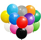 Koogel 36'' Big Balloons,15 Pcs Assorted Colors Latex Giant Balloons Large Balloons Giant Balloons for Birthday Wedding Party Festival Event Carnival Decorations