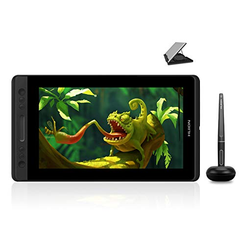 Huion KAMVAS Pro 12 Drawing Tablet with Screen Graphics Drawing Monitor Full-Laminated Pen Display with Battery-Free Pen and Adjustable Stand 8192 Pen Pressure(GT-116)