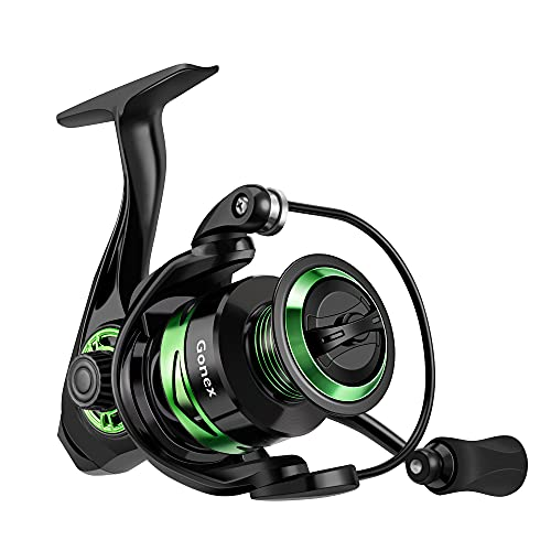 Gonex Spinning Reel Lightweight 9+1 BB Ultra Smooth Fishing Spinning Reels