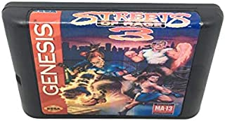 Streets Of Rage 3 16 Bit Game Cartridge Sega Md Game Card For Sega Mega Drive For Genesis