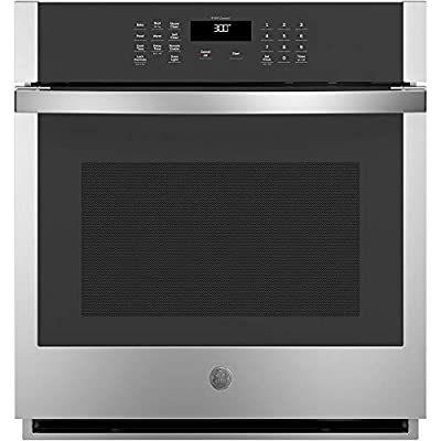 GE JKS3000SNSS 4.3 cu.ft. Stainless-Steel Built-in Single Wall Oven