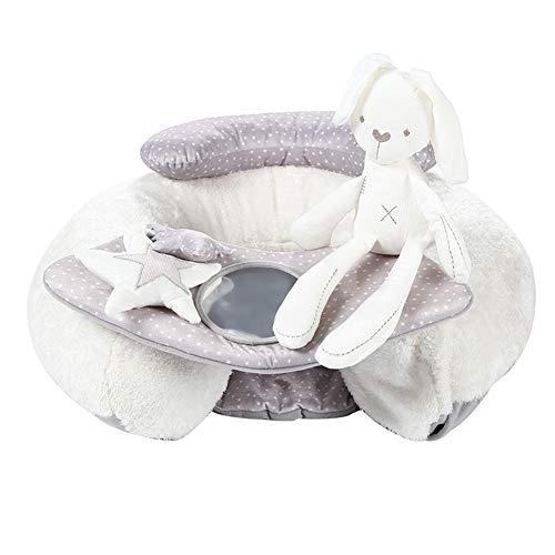 YUEHAPPY® Erlebnisdecke Baby Spielmatte & Activity Gym mit Aktivitätsspielzeug,Airbag-Kindersitz Neugeborenes Baby, das lernt, aufblasbare Sofapuzzlespielplüschspielwaren zu sitzen