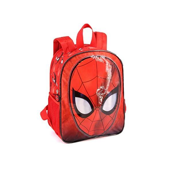 41Oeb gC+CL. SS600  - Karactermania Spiderman Spiderweb-Dual Rucksack (Klein) Mochila Infantil 32 Centimeters 9.25 Rojo (Red)