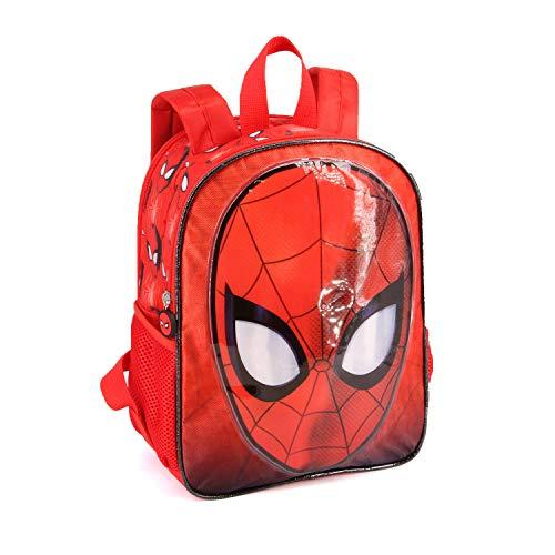 Karactermania Spiderman Spiderweb-Dual Rucksack (Klein) Mochila Infantil 32 Centimeters 9.25 Rojo (Red)