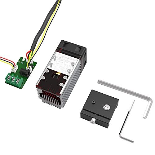 NEJE - Modulo laser 7,5 W, testa regolabile, accessorio di ricambio per macchina per incisioni laser CNC, testina laser Carving Arduino