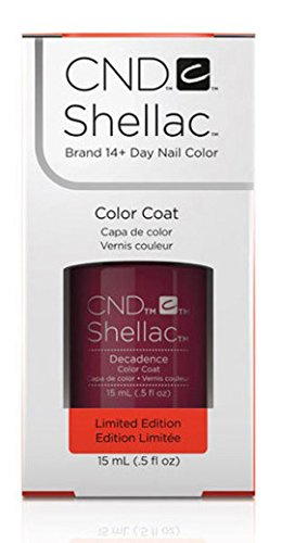 Smalto gel per unghie CND Shellac 15ml - Decadence - Nuovo formato salone