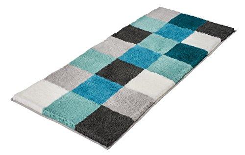 Kleine Wolke Textilgesellschaft 5426675534 - Tappetino da bagno, in poliacrilico, 50 x 120 x 2,5 cm