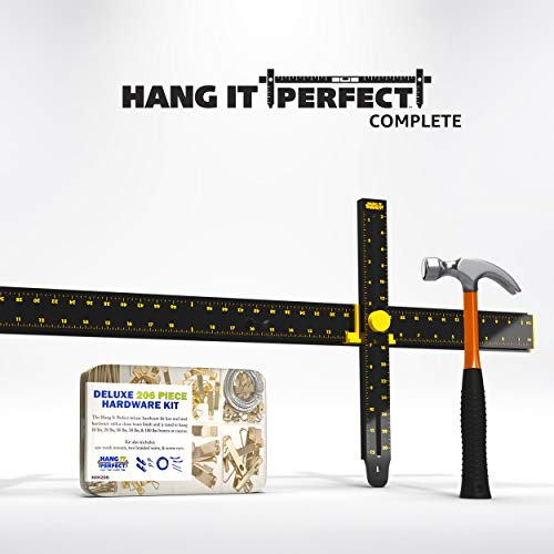 Crescent Creative Products HIP36C Hang It Perfect Complete, Black