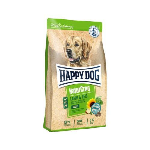 Happy Dog NaturCroq Agneau & Riz (Lamm & Reis) pour Chien - 12 kg
