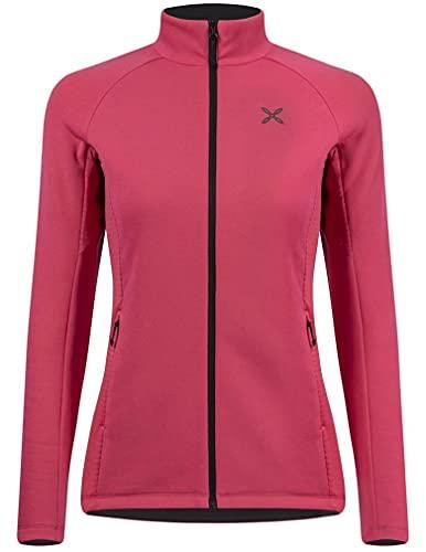 MONTURA Camiseta Iceland Jacket de mujer mmap91w 04 color rosa Sugar de forro polar polar térmico y elástico, ideal para senderismo y alpinismo invernal, Rosa, S