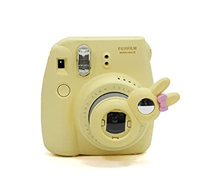 [Fujifilm Instax Mini 7s Mini 8 Selfie Lens] - CAIUL Rabbit Style Instax Close Up Lens with Self-Portrait Mirror for Fujifilm Instax Mini 8 Mini 7s Camera and Polaroid 300 by