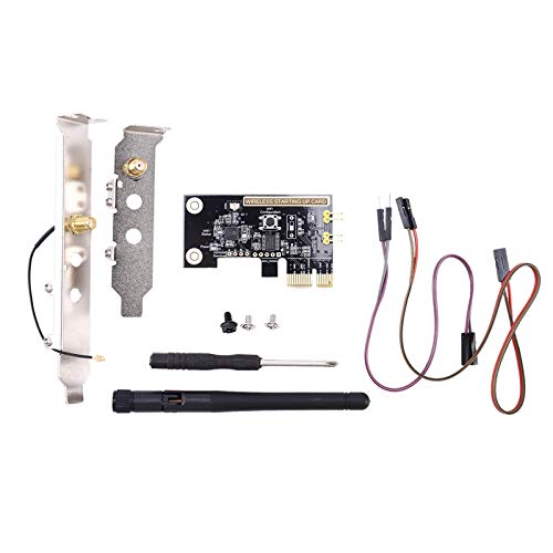 Andifany PCI-E Desktop PC Remote Control Switch Card WiFi Smart Switch Relay Module Restart Switch Turn On/OFF New