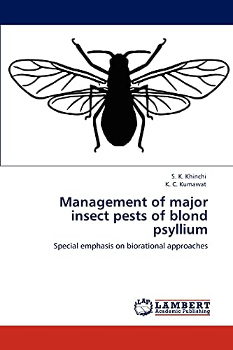 Management of major insect pests of blond psyllium