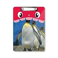 南極のペンギンの多くは自然科学写真 虎口フラットヘッドフォルダー書き込みパッド学習A4