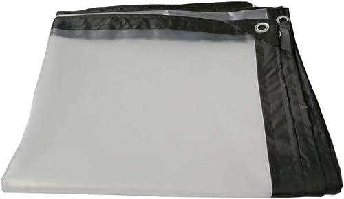 M-Y-L Bache de prougeectionToile en Plastique imperméable résistante imperméable de bache Transparente épaisse pour Le Jardin de Balcon extérieur -100g   m2, 0.12mm,5  5m