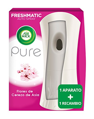 Air Wick Ambientador Freshmatic Completo Pure Flores de Cerezo de Asia