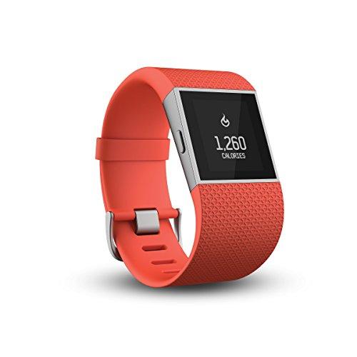 Fitbit Surge Smartwatch, Unisex, Naranja, L