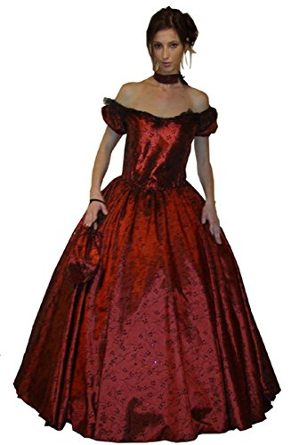 MAYLYNN 11523 - Barock Rokoko Kleid Kostüm Scarlett 3-teilig Gr. M