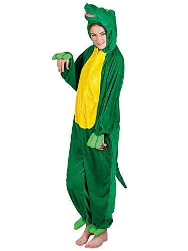 DISBACANAL Disfraz de cocodrilo Adulto - -, M