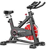 SYRINX Exercise Bike Indoor Cycling Bike Stationary Bikes for Home Gym Fitness...