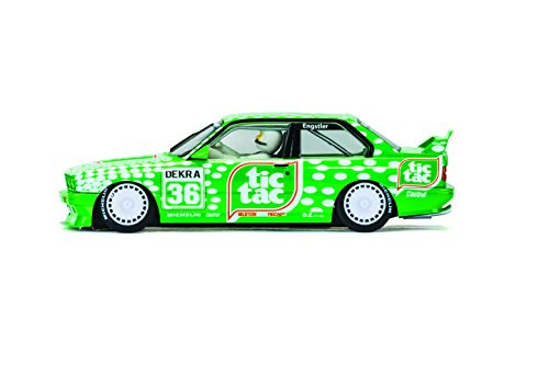 Scalextric- BMW M3 E30 Sport Evolution Team Tic Tac, C3865