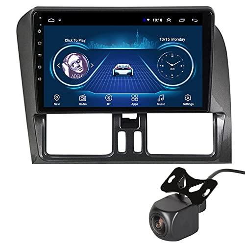 Android 10.0 Autoradio Multimediale con 9   Screen per Volvo XC60 2009-2012 Supporta La Navigatore GPS DSP Stereo Auto FM AM RDS Radio Controllo del Volante USB con Telecamera Posteriore,1+16G