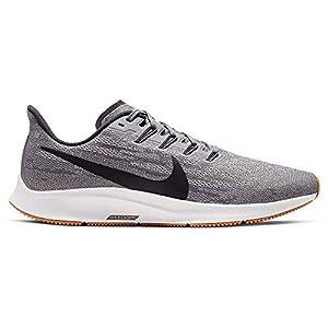 Nike Men's Air Zoom Pegasus 36 Running Shoes, Gunsmoke/Oil Grey/White/Gum Light Brown, 11.5