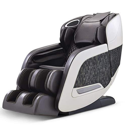 Lzour Massage Chair, Full Body Zero Gravity Shiatsu Recliner with Bluetooth and Mp3, Unique Armest Massage Design, 9 Auto Massage Modes,Black