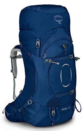Osprey Ariel 65 Trekkingrucksack für Frauen Ceramic Blue - WM/L