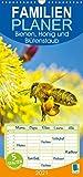 Bienen, Honig und Blütenstaub - Familienplaner hoch (Wandkalender 2021, 21 cm x 45 cm, hoch)