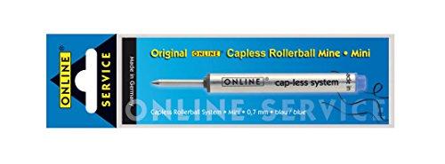 Online Schreibgeräte 40067/3 - Capless Mini Mine, Strichstärke 0,6 mm, Schreibfarbe blau, 1 Stück