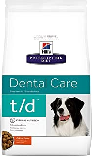 Hill's Prescription Diet t/d Dental Care Chicken Flavor Dry Dog Food 25 lb