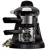 SYSWJ Kaffeemaschine Mini-Halbautomatische Espressomaschine Hochdruck-Dampf-Milchschaum-Luftblasen-Aufschäumer Kaffeemaschine , A