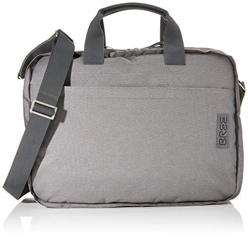 BREE Unisex-Erwachsene Punch Style 67, Grey Denim, Briefca. S20 Umhängetasche Grau (Grey Denim)