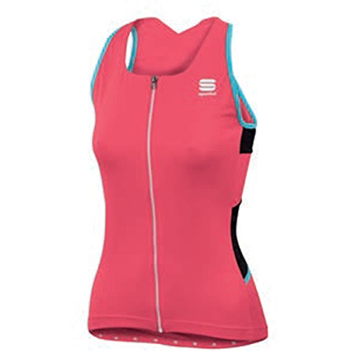 Maillot Sportful Luna Sin Mangas Rosa Mujer 2017