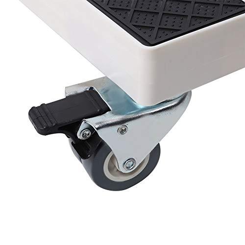 Chiwe Mover refrigerador, 8 Ruedas Mover Lavadora automática Ajustable a Prueba de Humedad, Bloqueo de un botón móvil para Lavadora refrigerador