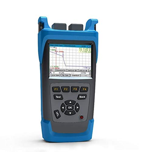 Find Bargain GAOTek Handheld OTDR with VFL, 1310 nm/1550 nm Wavelengths, 28 db /26 dB Dynamic Range,...