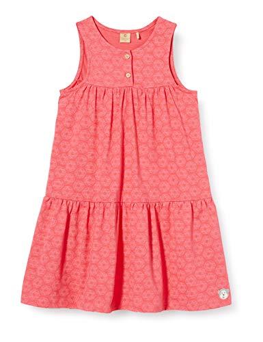 Bellybutton mother nature & me Mädchen o. Arm Kleid, Mehrfarbig (Allover|Multicolored 0003), (Herstellergröße: 98)