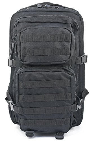 Mil-Tec US Assault Pack lg schwarz