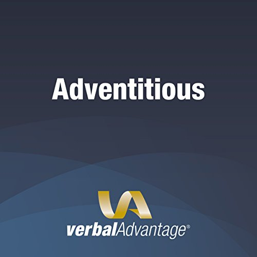 Word of the Day: Adventitious  By  cover art