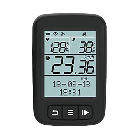 【本日最終日】NEWOKE CooSpo GPS、バッテリー内蔵、ANT+ & Bluetooth対応防水サイクルコンピューター 2,961円送料無料!