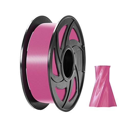 pedkit PLA Filament,PLA 3D Printer Filament 1.75mm Dimensional Accuracy +/- 0.05mm 1kg(2.2lbs) Spool, Pink